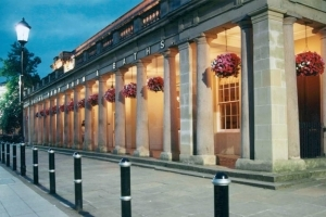 The Royal Pump Room at Leamington Spa in Warwickshire. Visit as part of a canal boat holiday with Great British Boating