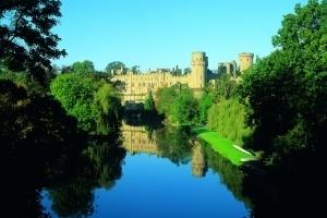 Warwick Castle and the River Avon