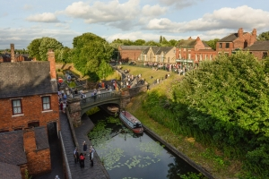 Visit the Black Country living museum on a canal boat holiday on the Black Country Ring